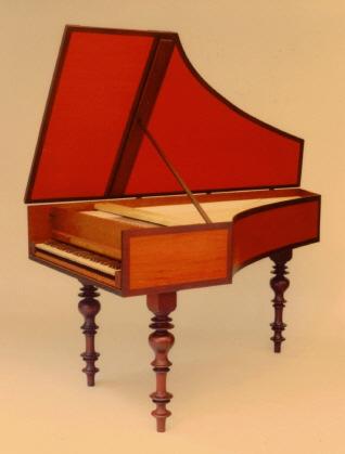 Lautenwerk Single Harpsichord