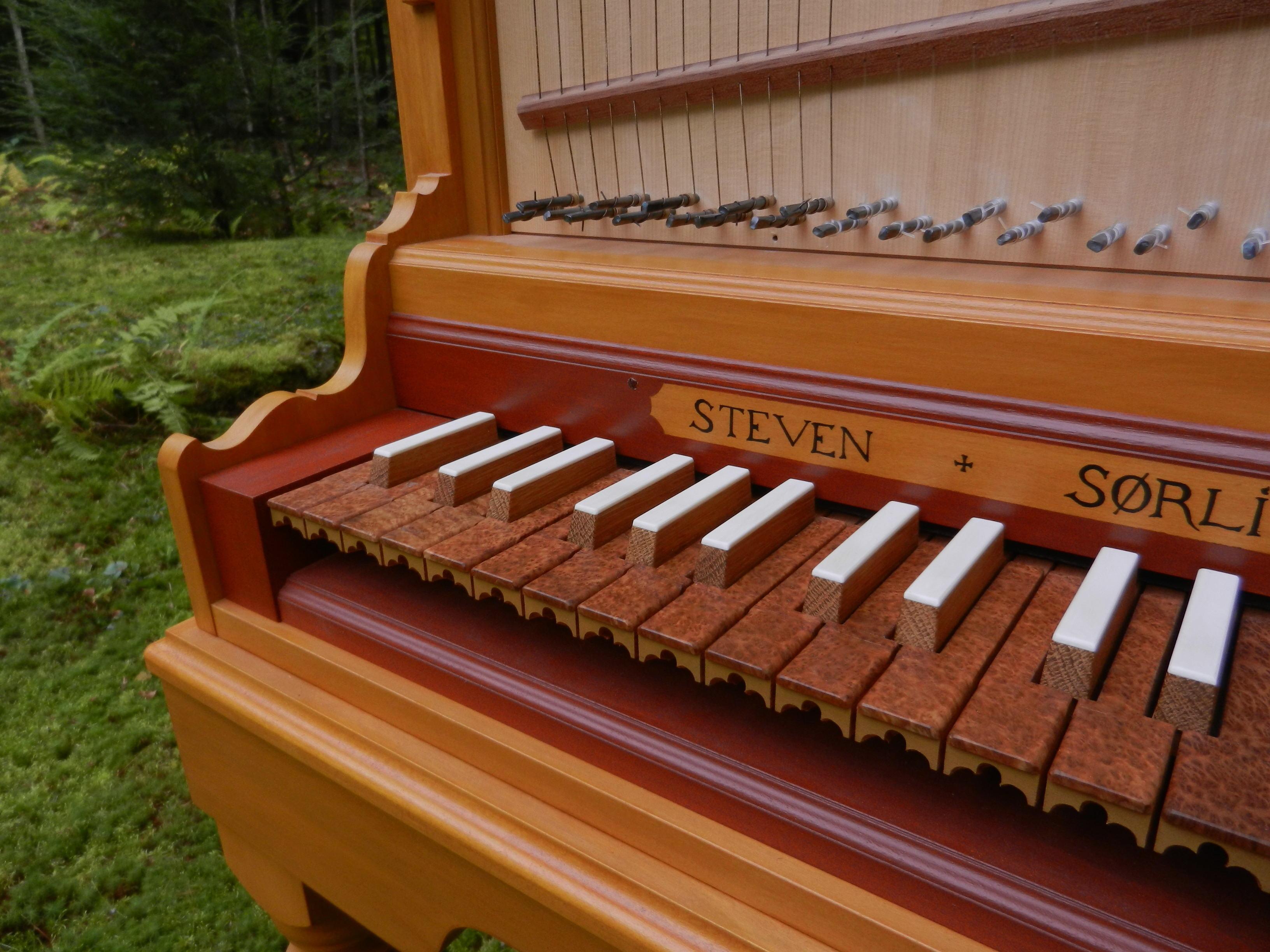 Clavicytherium keyboard