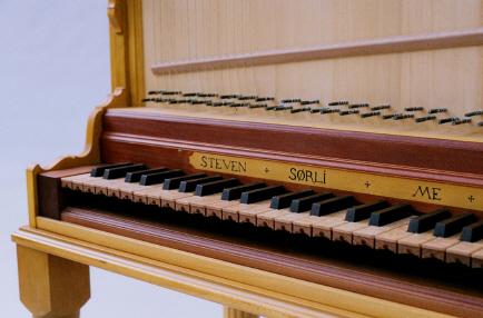 Clavicytheium Keyboard