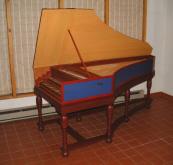 German Double Harpsichord