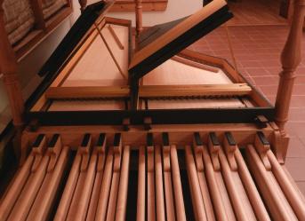 Pedal Board Harpsichord